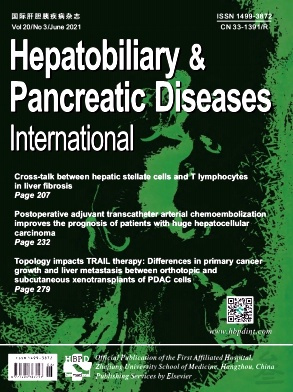Hepatobiliary & Pancreatic Diseases International杂志